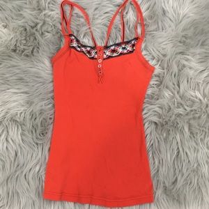 Free People Embroidered Camisole